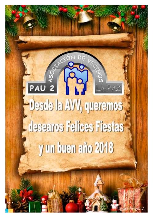 Felicitación Navidad AVV 2018